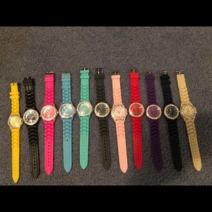Multi color watches